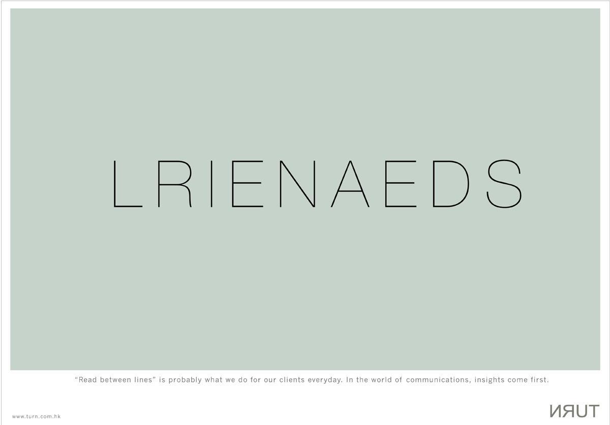 Turn Print Ad -  Lrienaeds