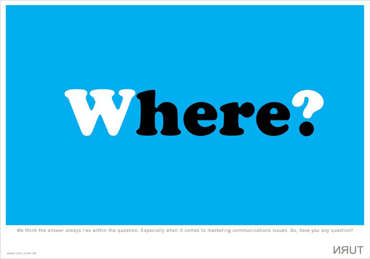 Turn Print Ad -  Where