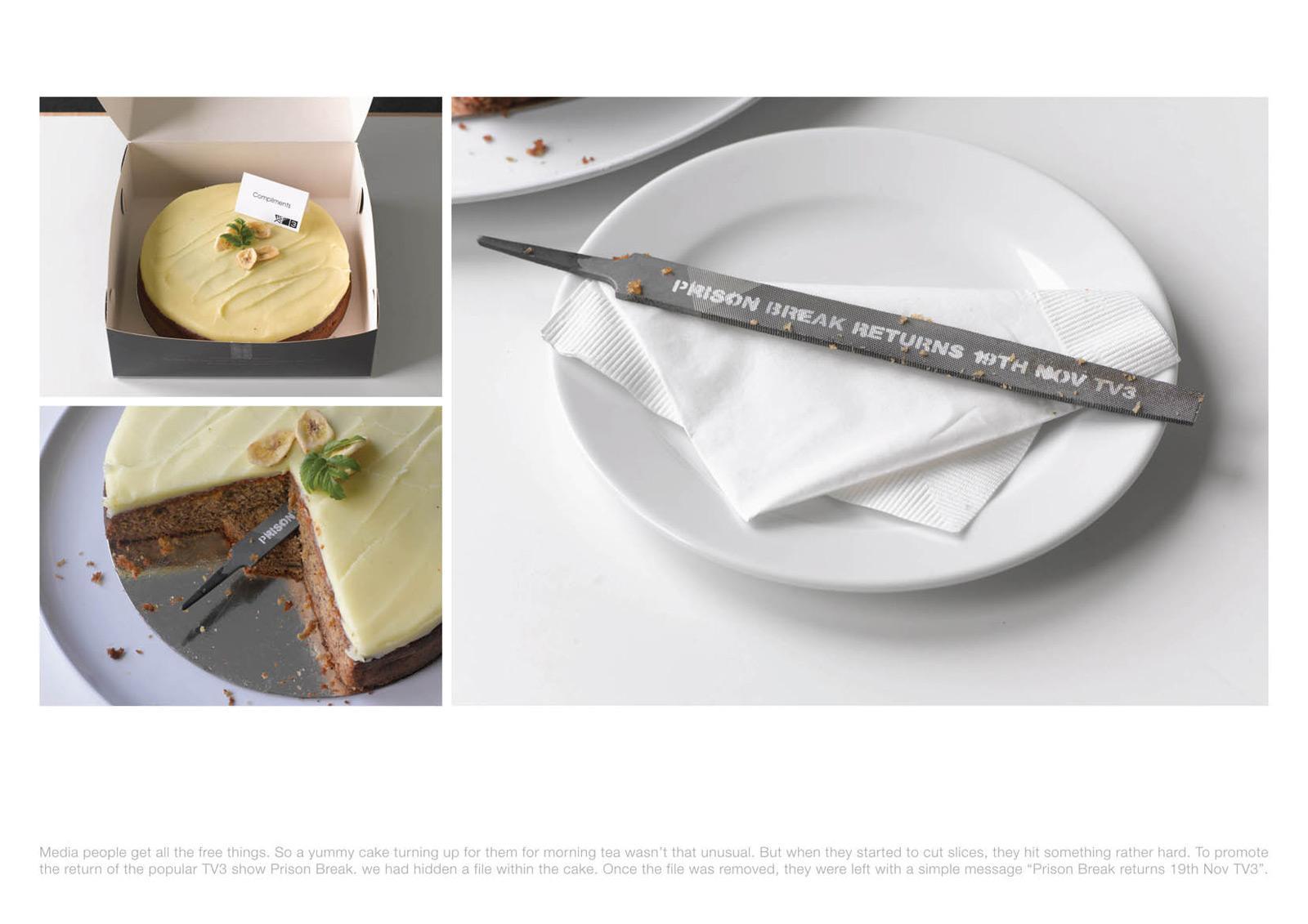 TV3 Direct Ad -  Cake