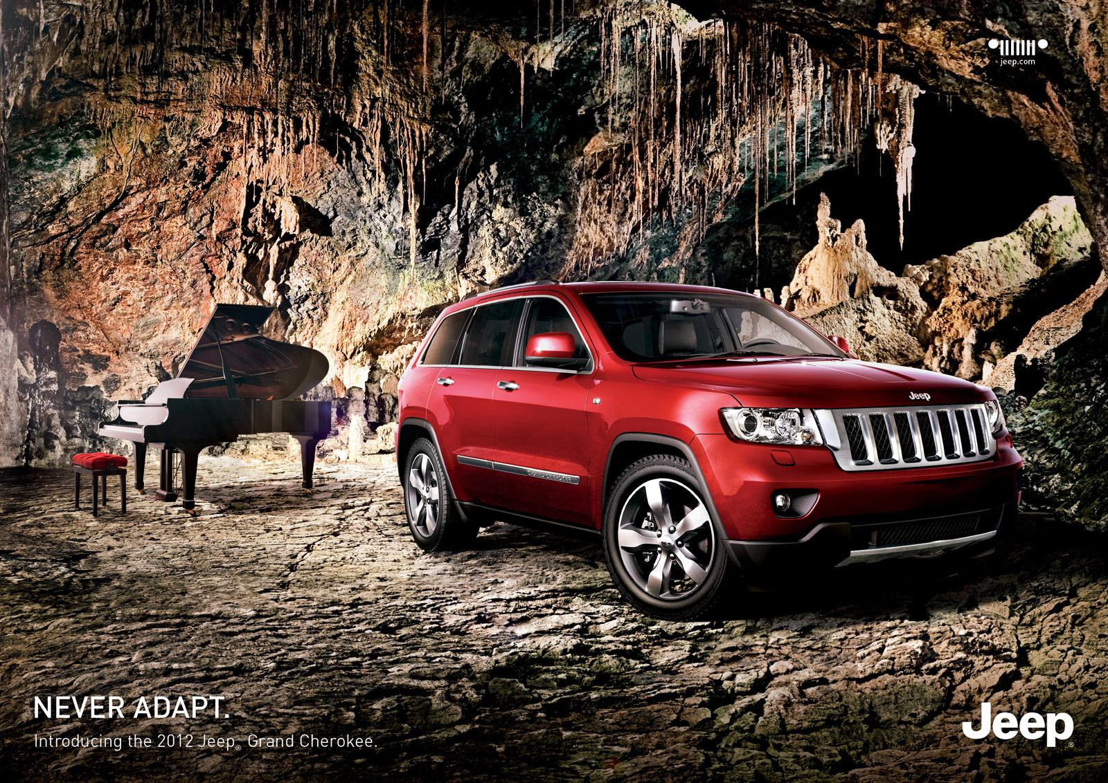 Jeep Print Ad -  Never Adapt, 2