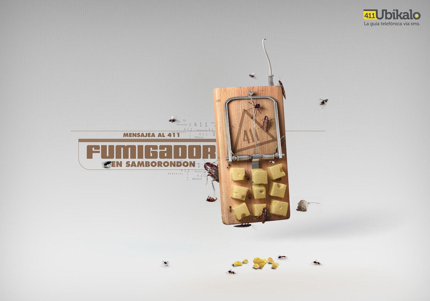 Ubikalo 411 Print Ad -  Fumigation