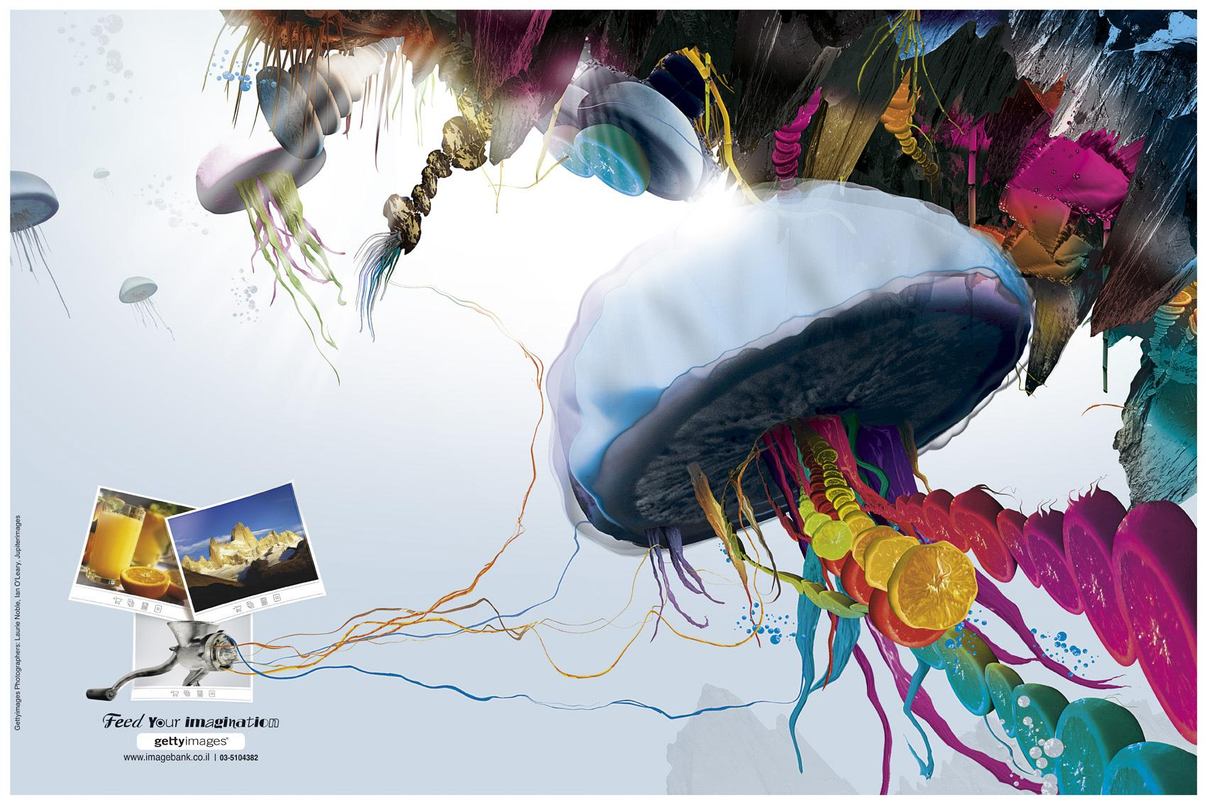 Getty Images Print Ad -  Underwater
