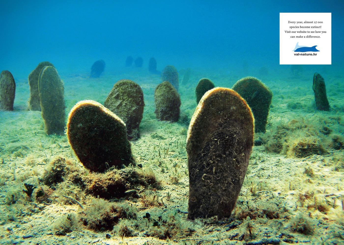 Val Print Ad -  Underwater Graveyard
