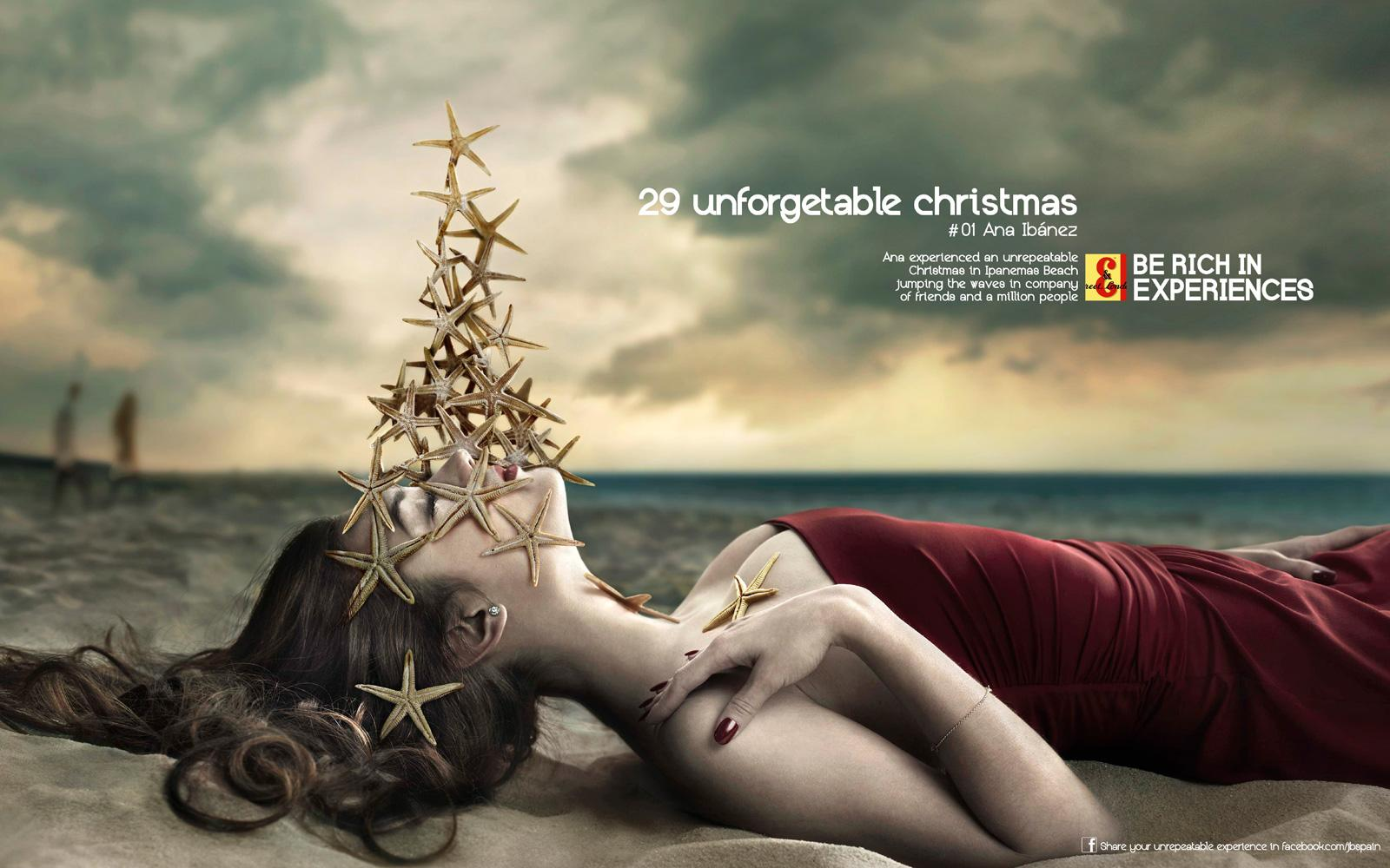 J&B Print Ad -  Unforgettable Christmas