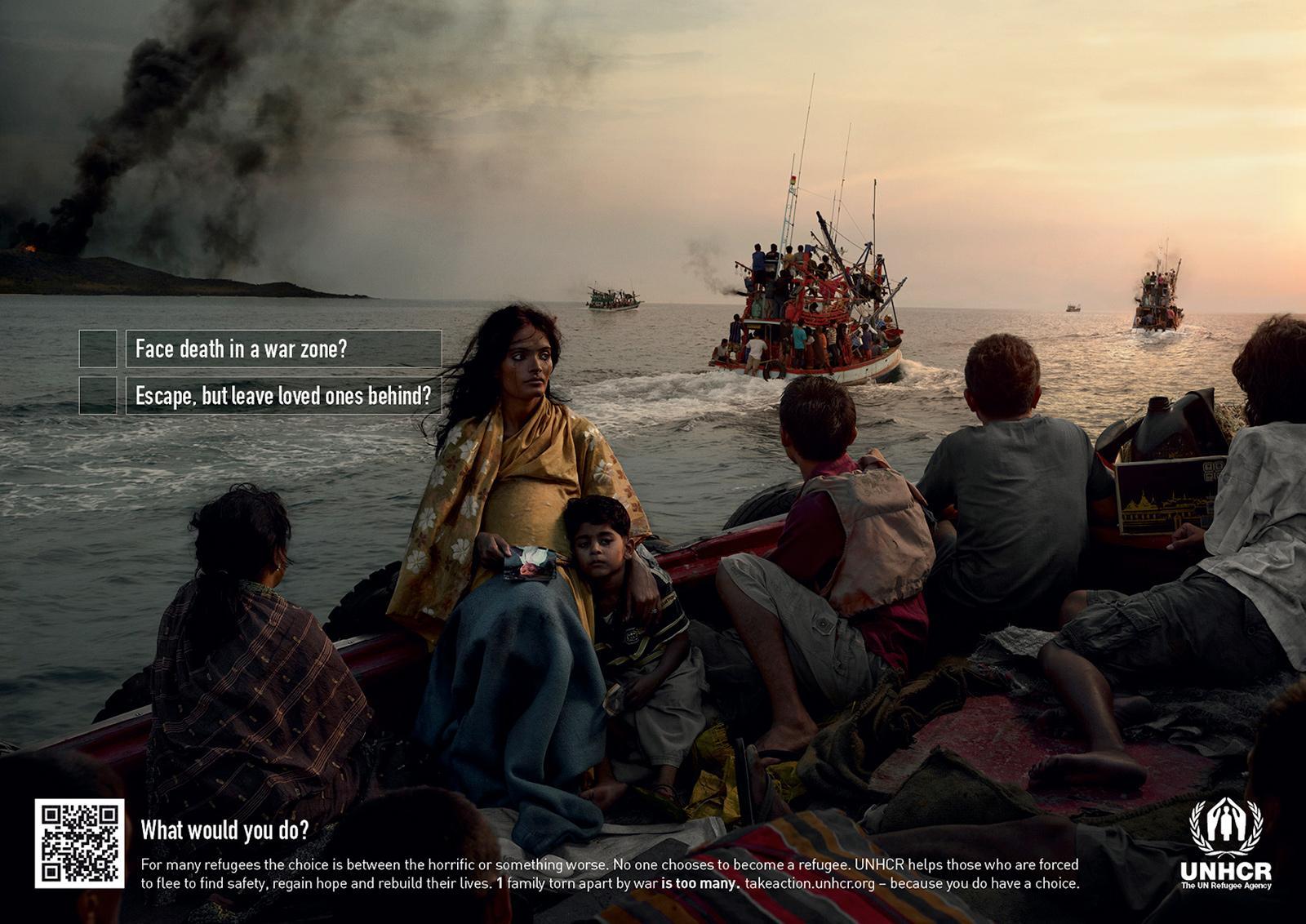 UNHCR Print Ad -  Dilema, 1