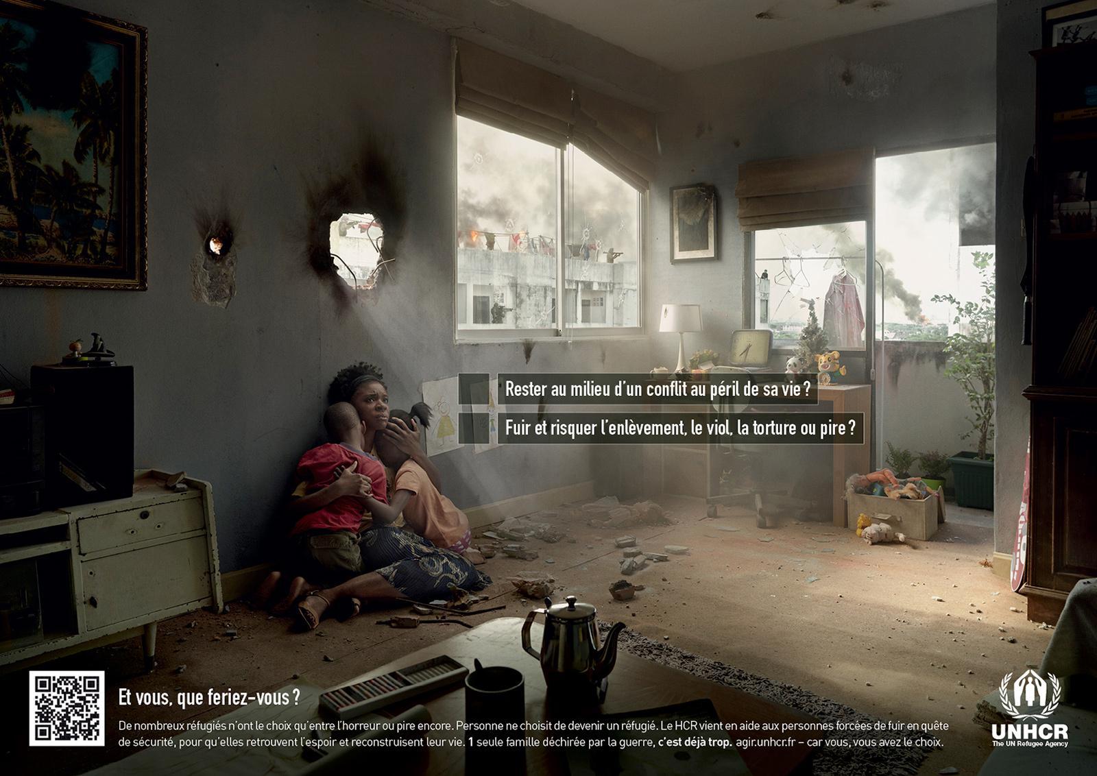 UNHCR Print Ad -  Dilema, 3