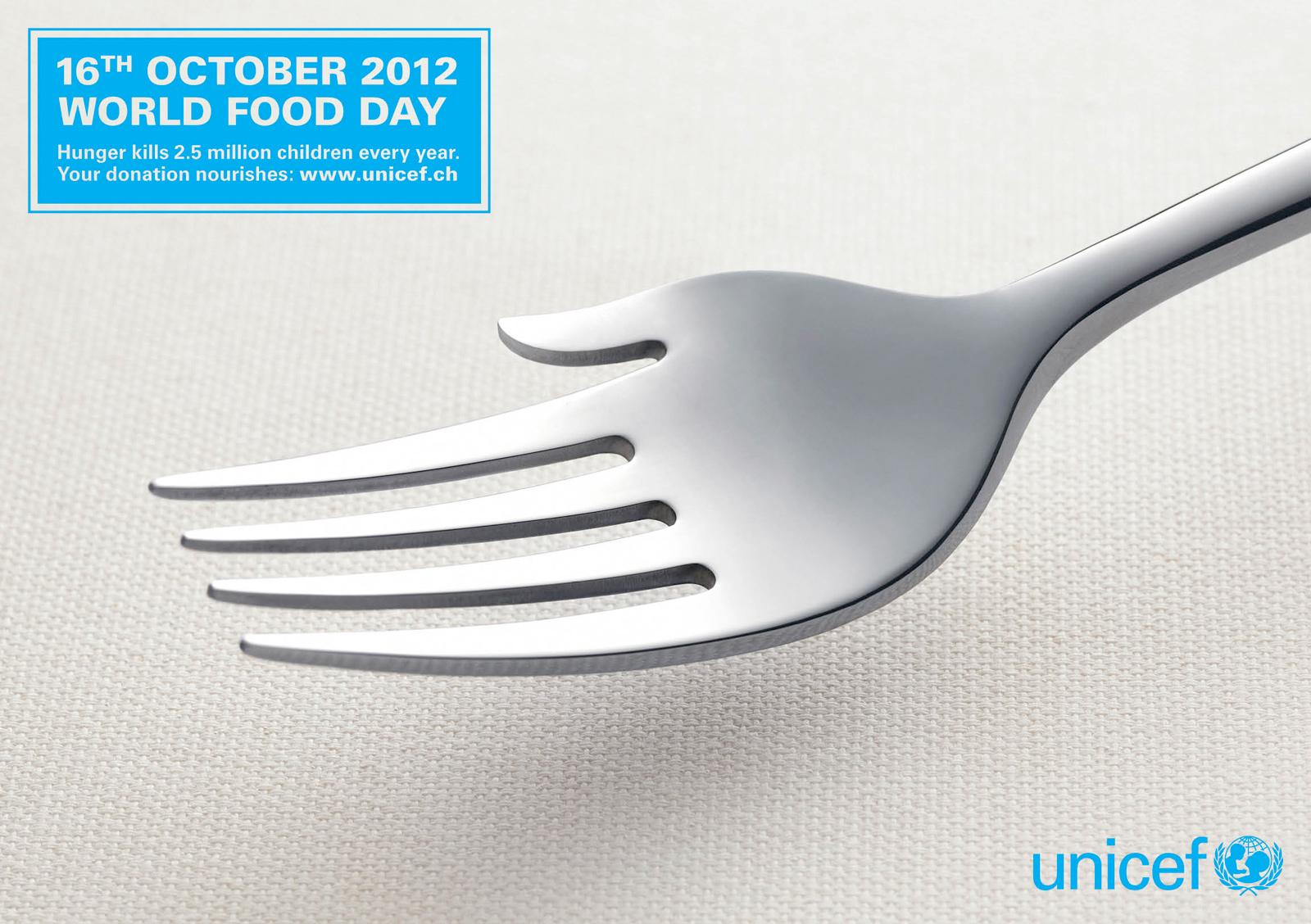 Unicef Print Ad -  World Food Day