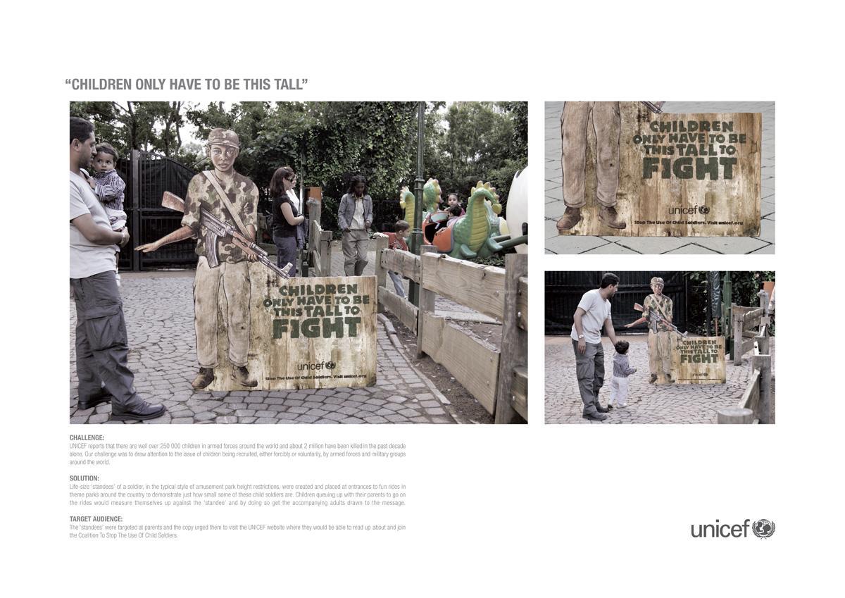 Unicef Ambient Ad -  Children