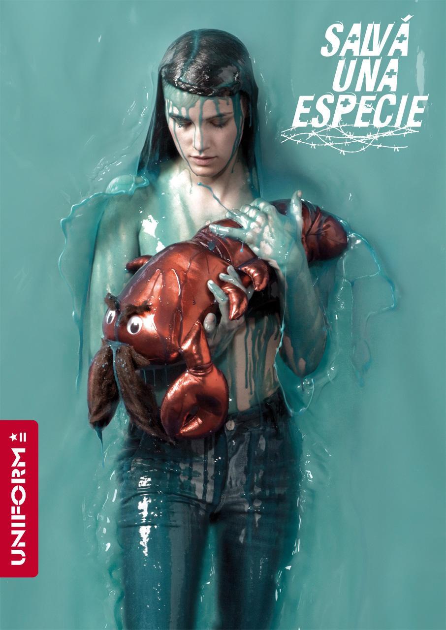Uniform Print Ad -  Save a Species, 2
