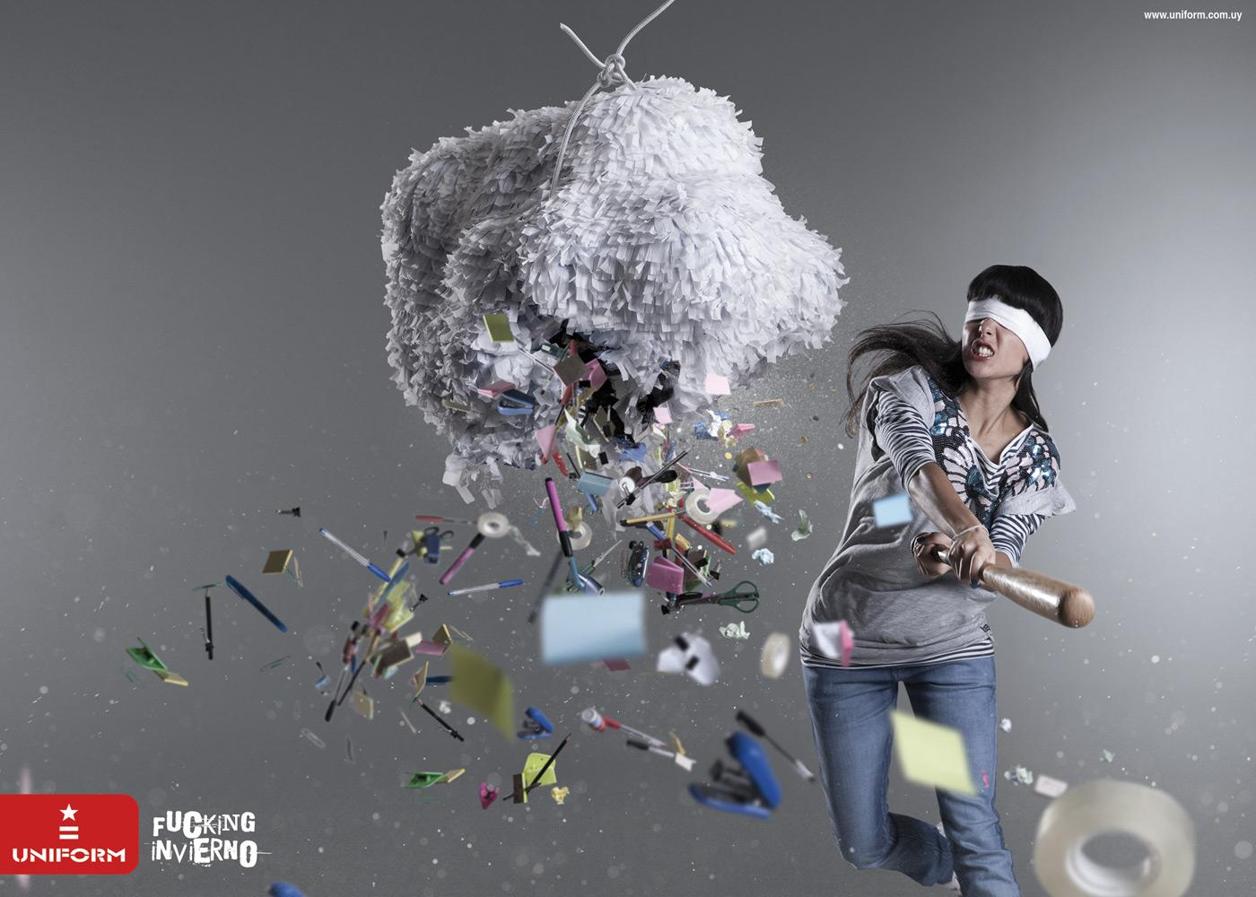 Uniform Print Ad -  Pinata, 2