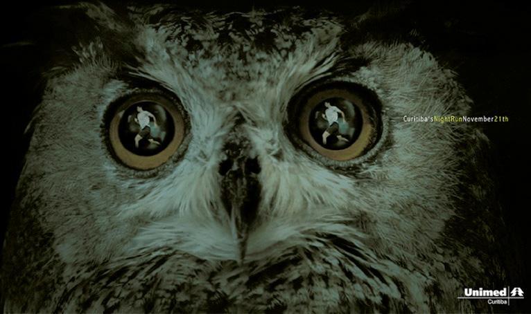 Unimed Print Ad -  Owl