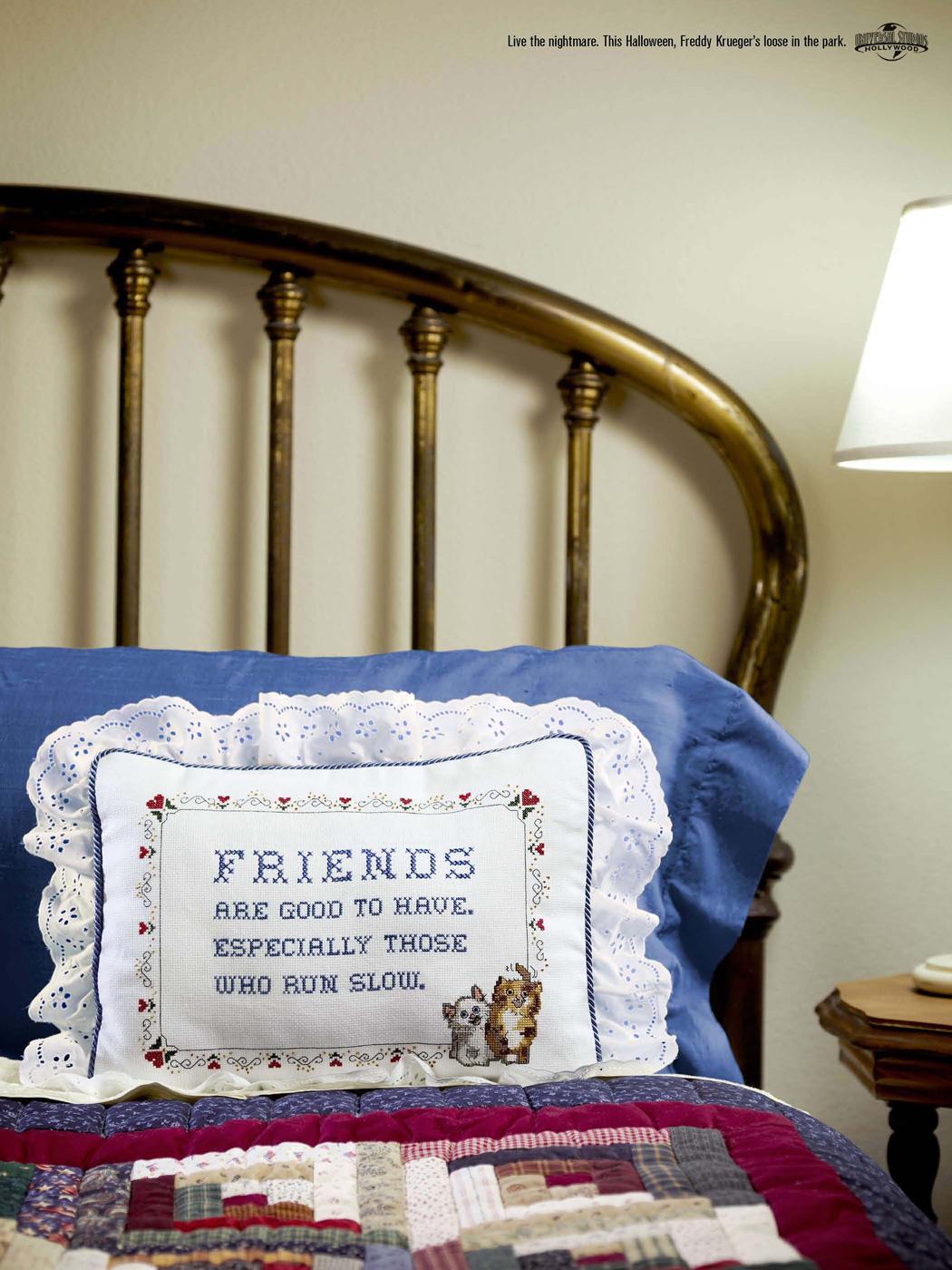 Universal Print Ad -  Friends