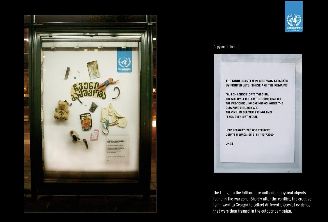 United Nations Outdoor Ad -  Kindergarten