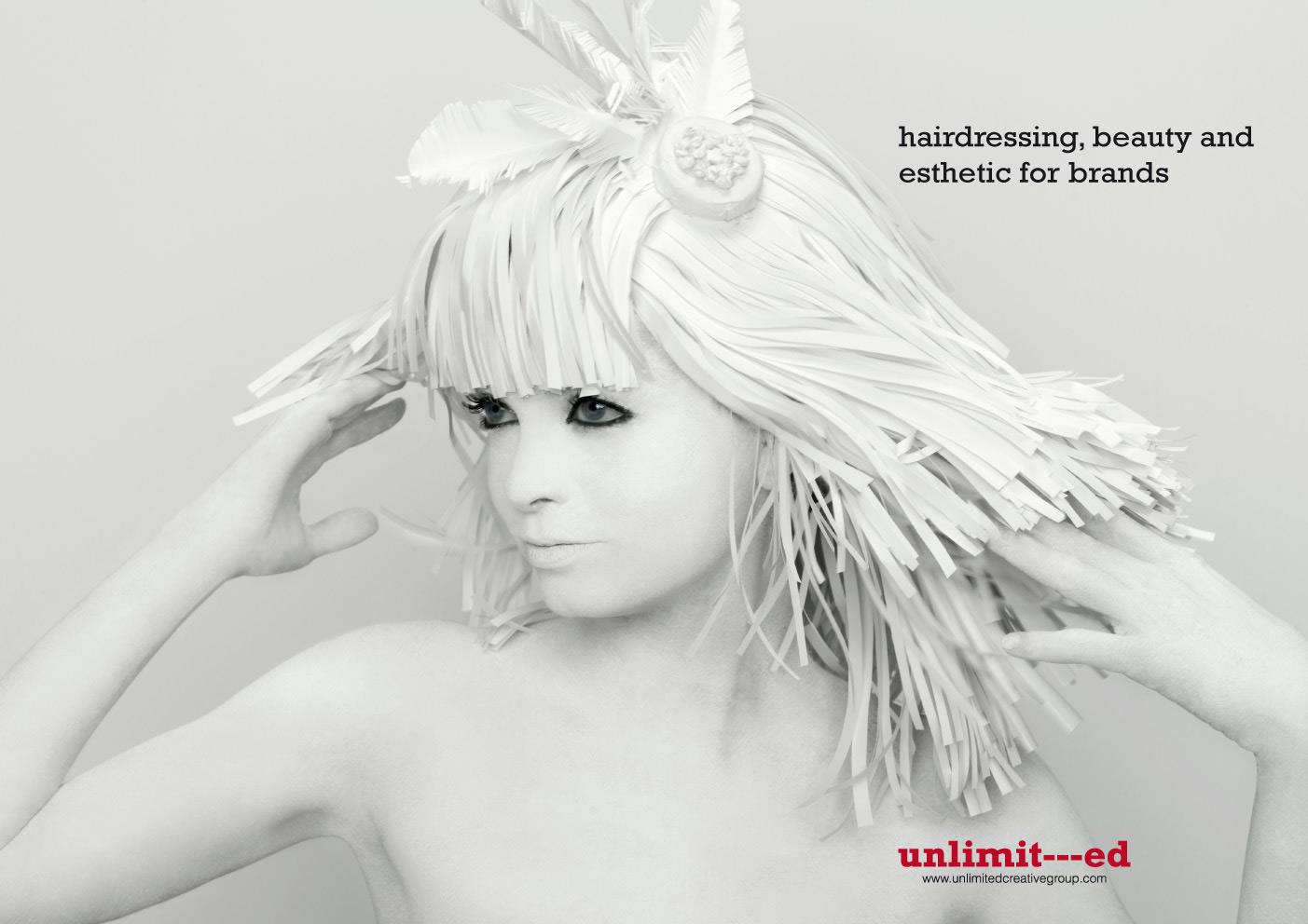 Unlimited Creative Group Print Ad -  Girl, 3