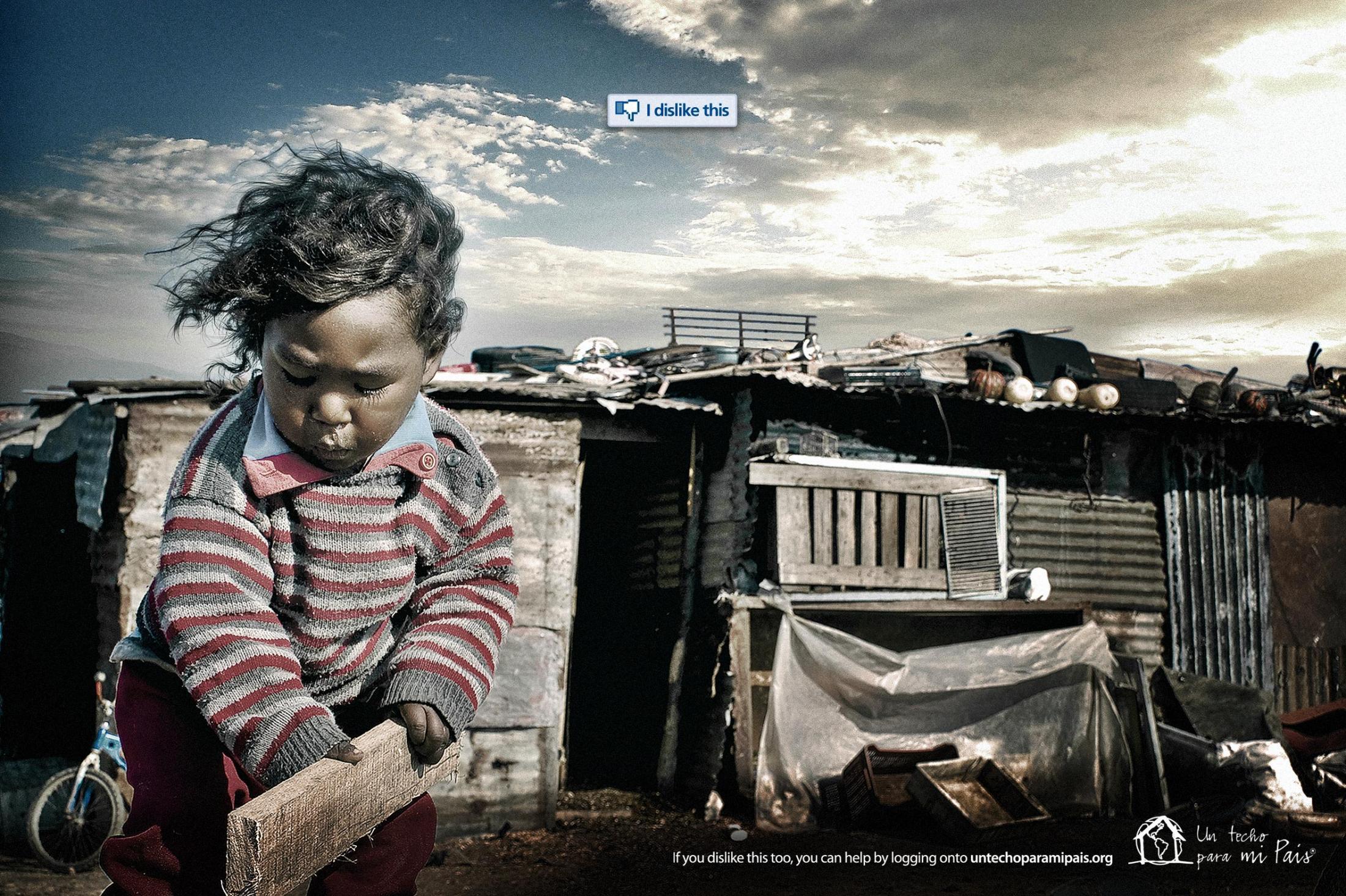 Un Techo Para Mi País Print Ad -  Ecuador