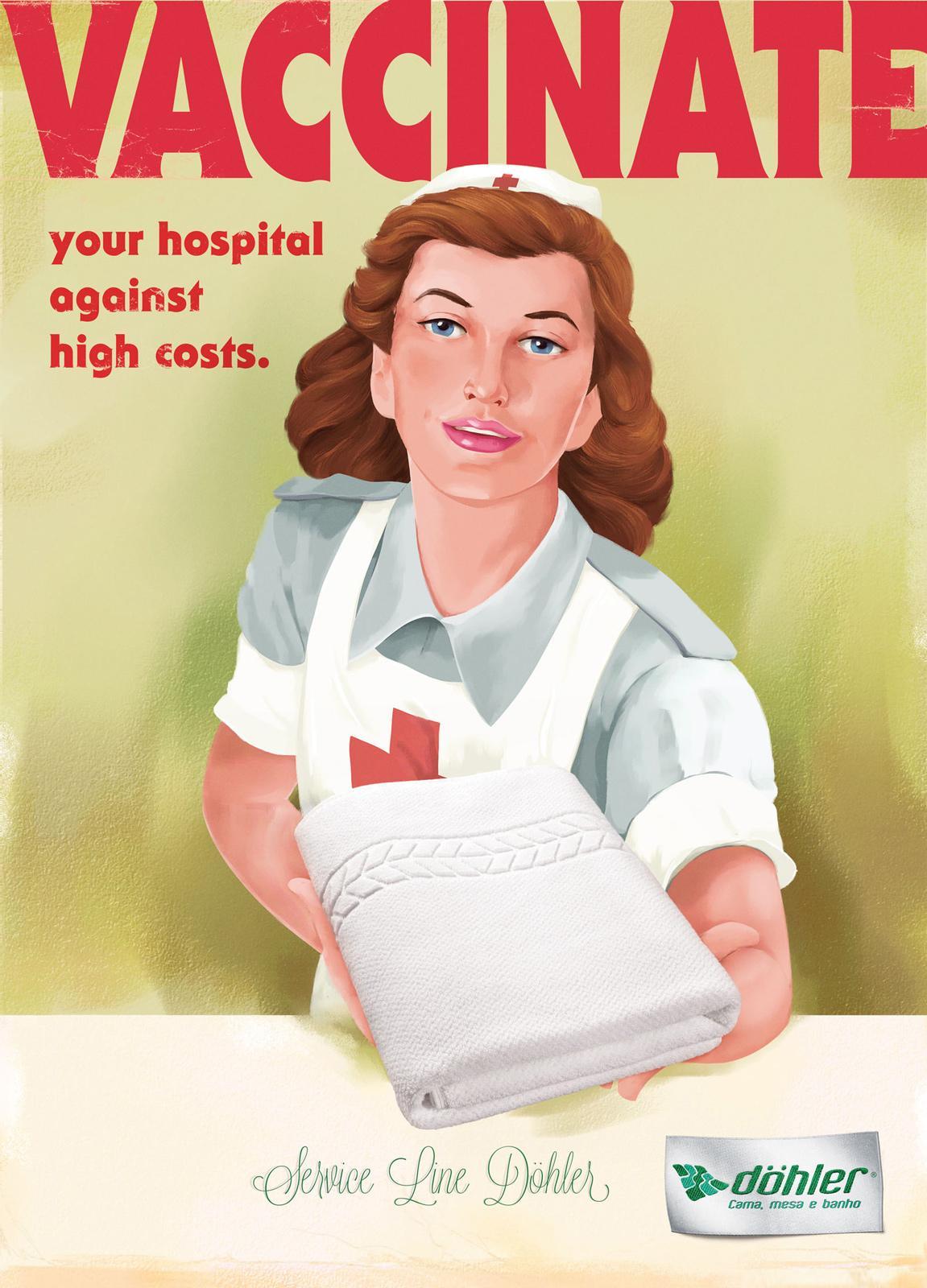 Döhler Print Ad -  Vaccinate