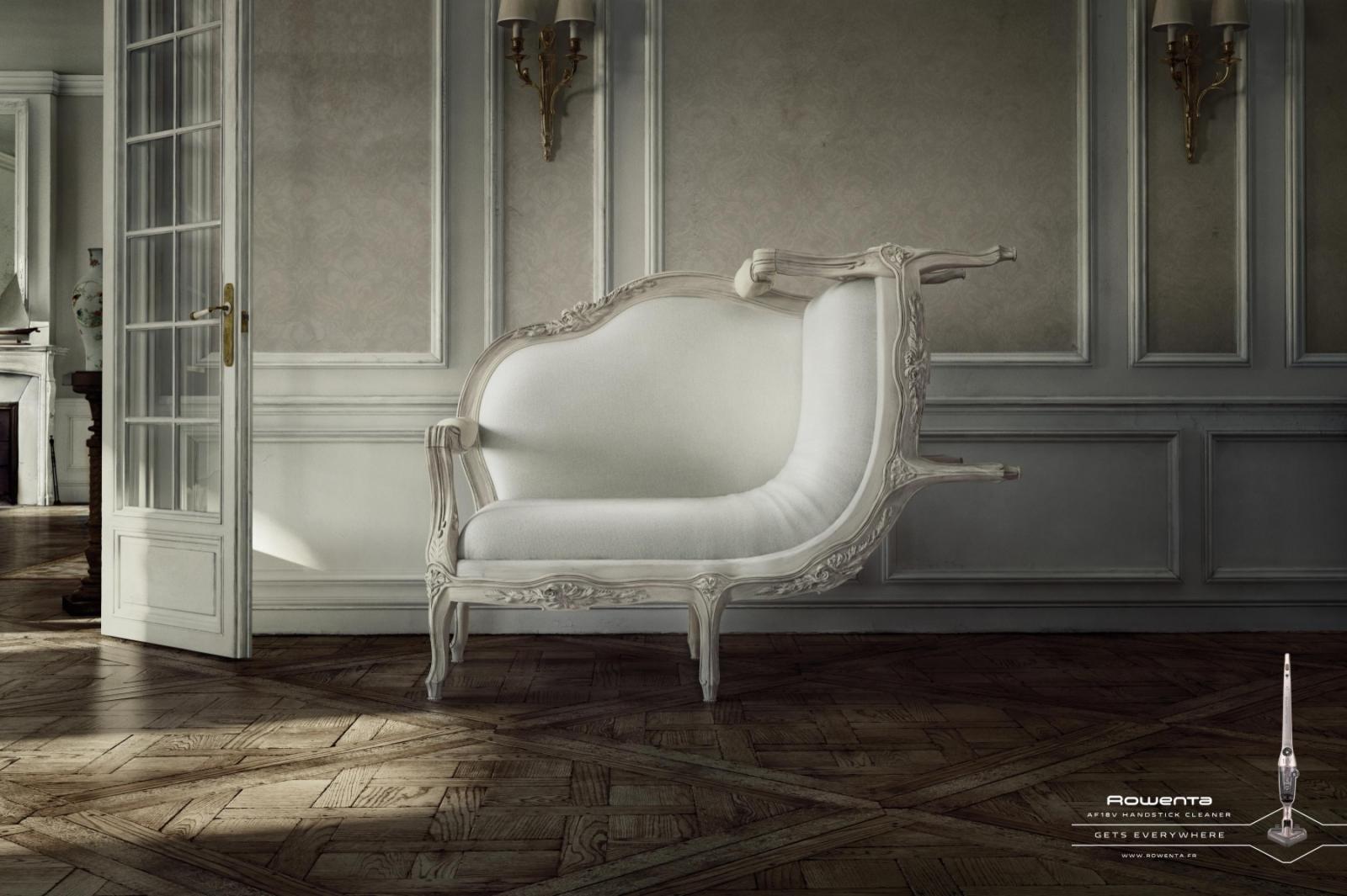 Rowenta Print Ad -  Sofa