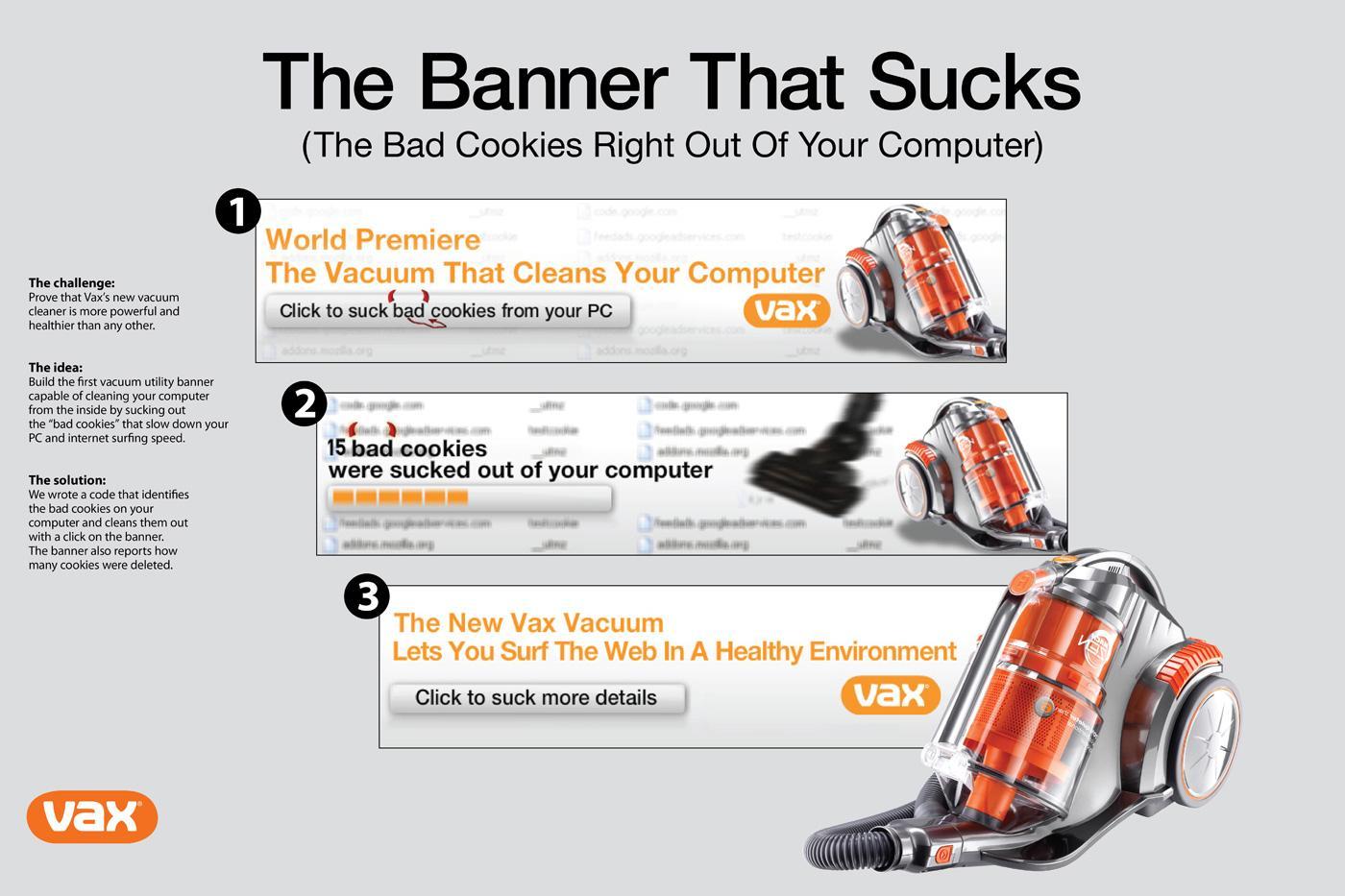 Vax Digital Ad -  The Banner that Sucks