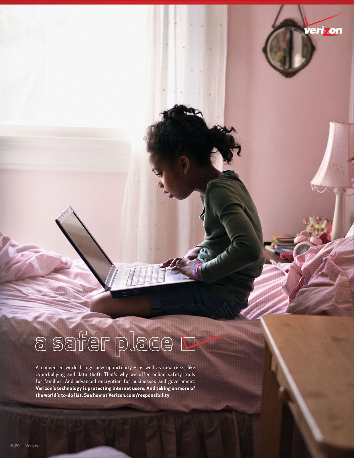 Verizon Print Ad -  Safety