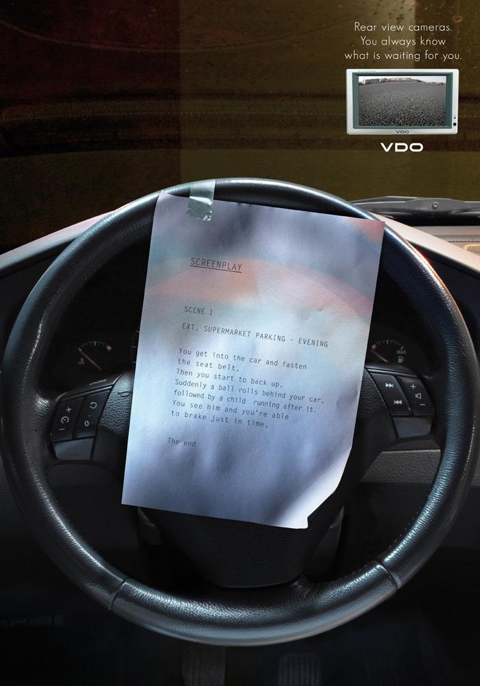 VDO Print Ad -  Car