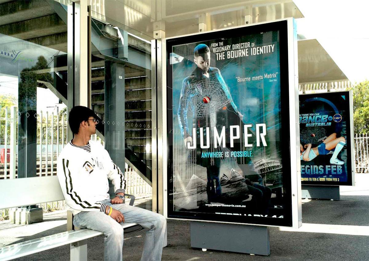 Vegemite Ambient Ad -  Jumper