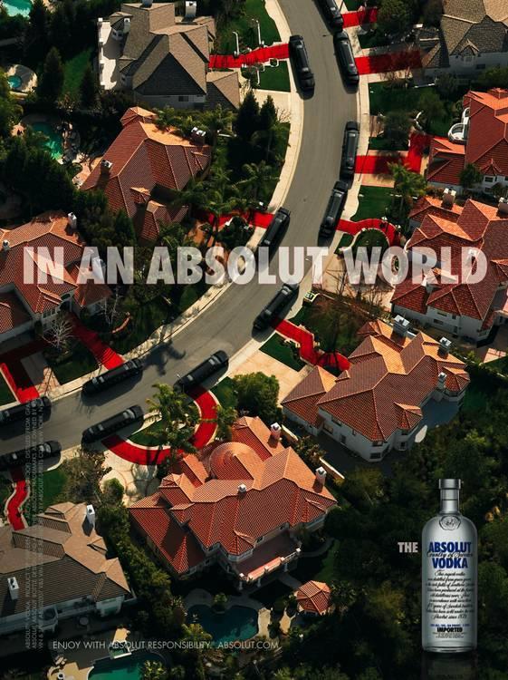 Absolut Print Ad -  Limousine