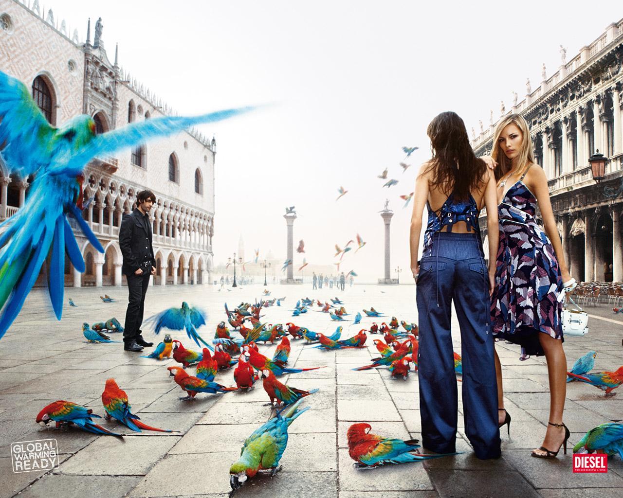 Diesel Print Ad -  Global Warming, Venice