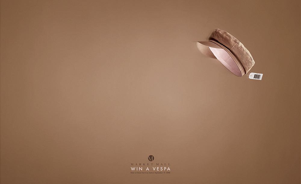 Win a Vespa - Hat