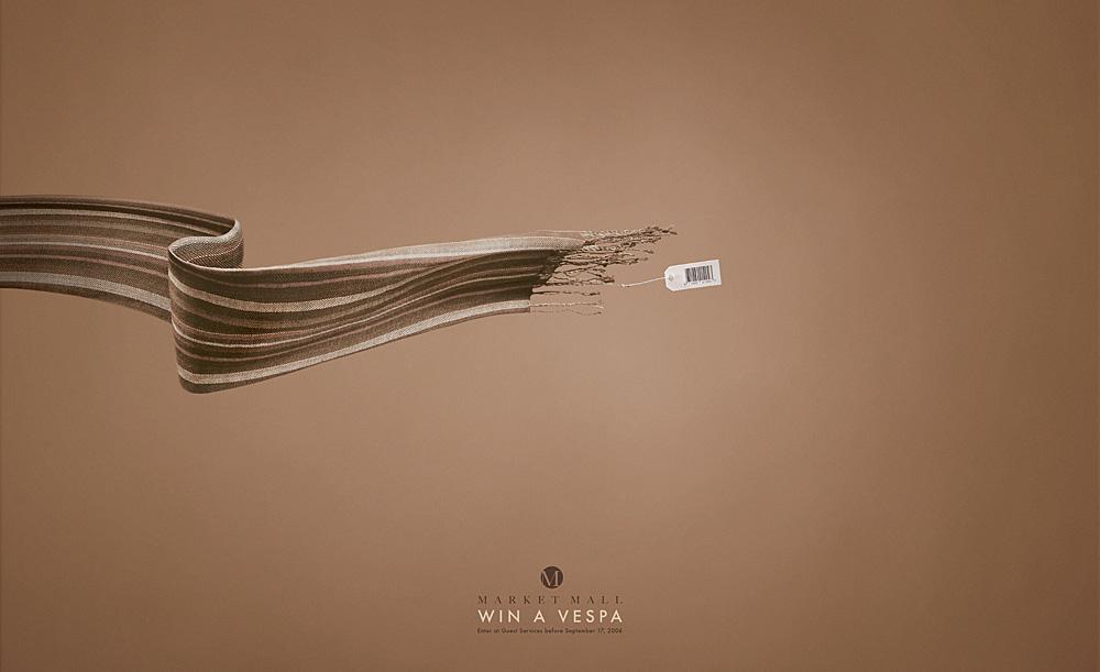 Win a Vespa - Scarf