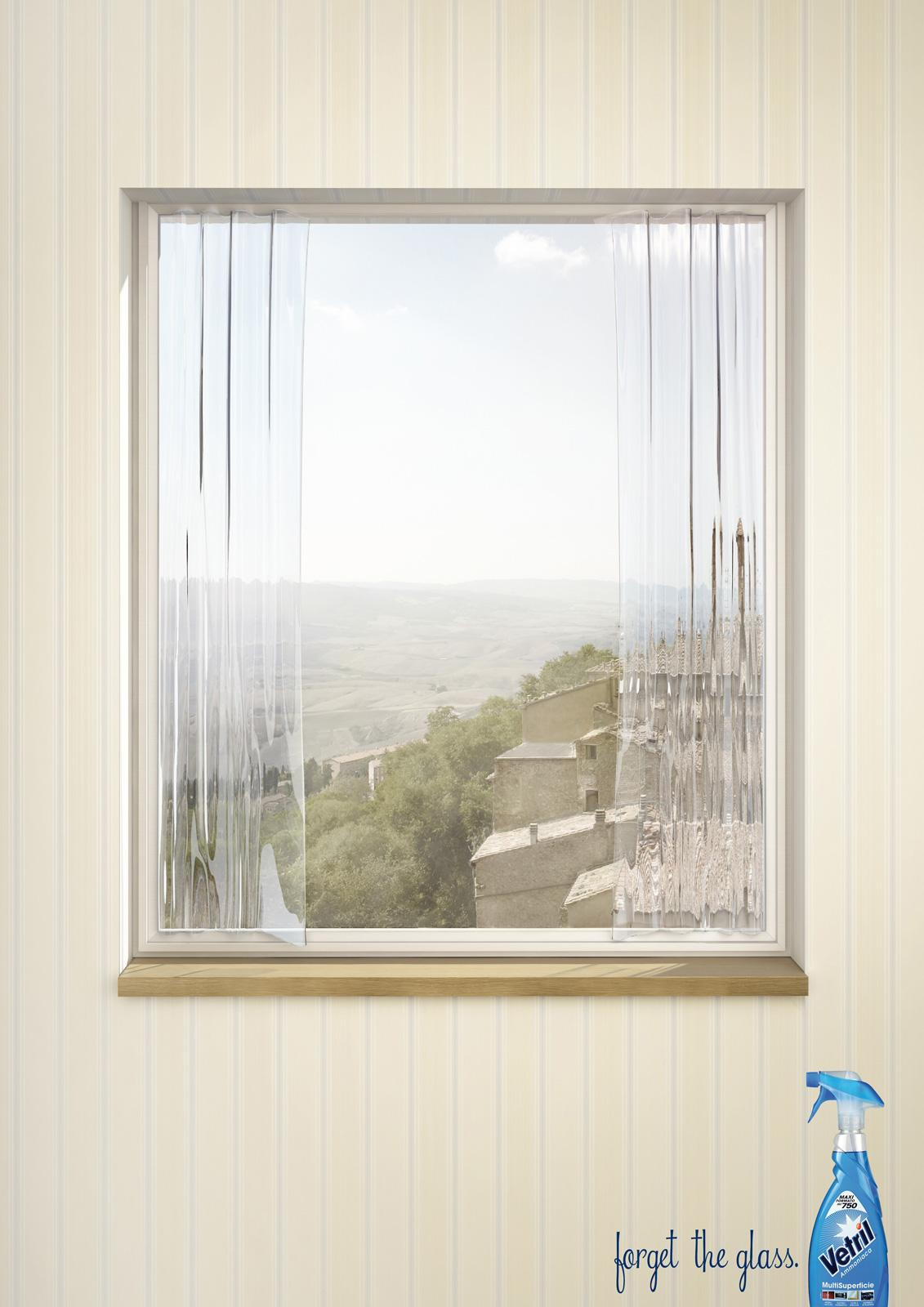 Vetril Print Ad -  Curtains