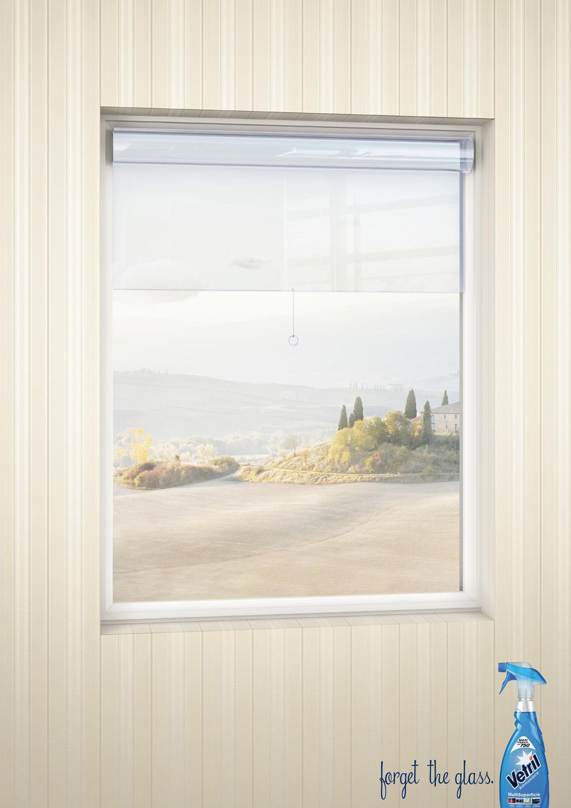 Vetril Print Ad -  Roller blind