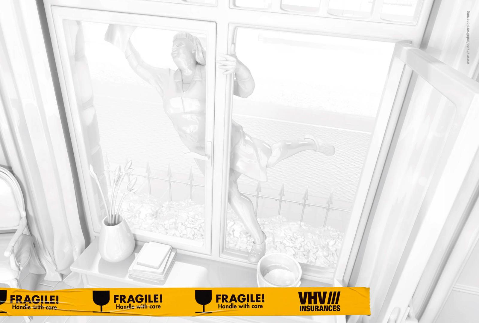 VHV Holding Print Ad -  Window