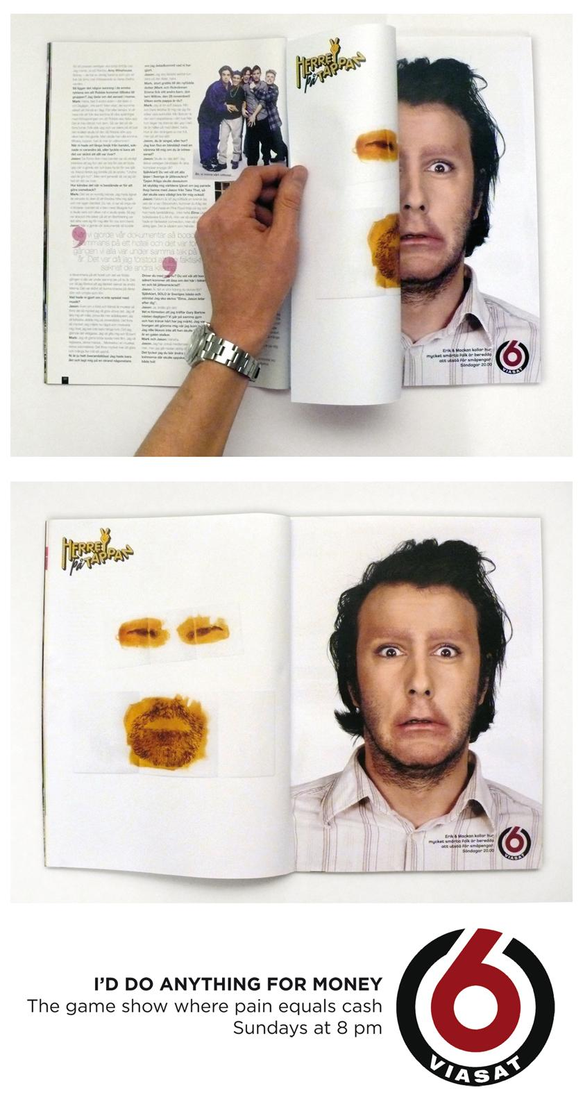 TV6 Print Ad -  Wax