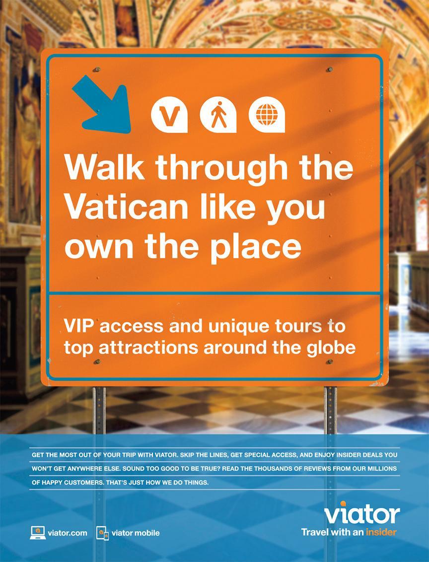 Viator Outdoor Ad -  Vatican
