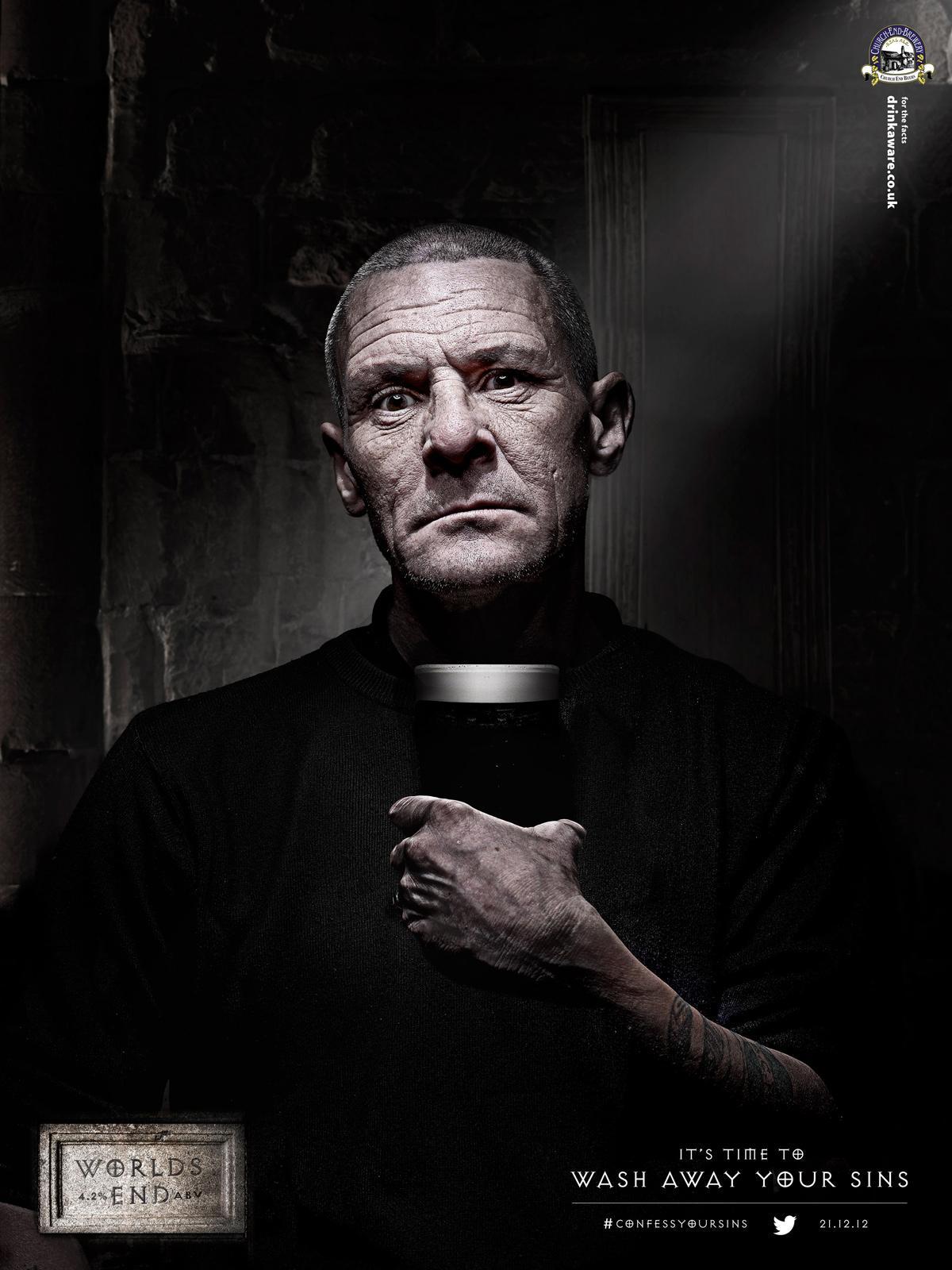 Church End Print Ad -  Vicar Phil