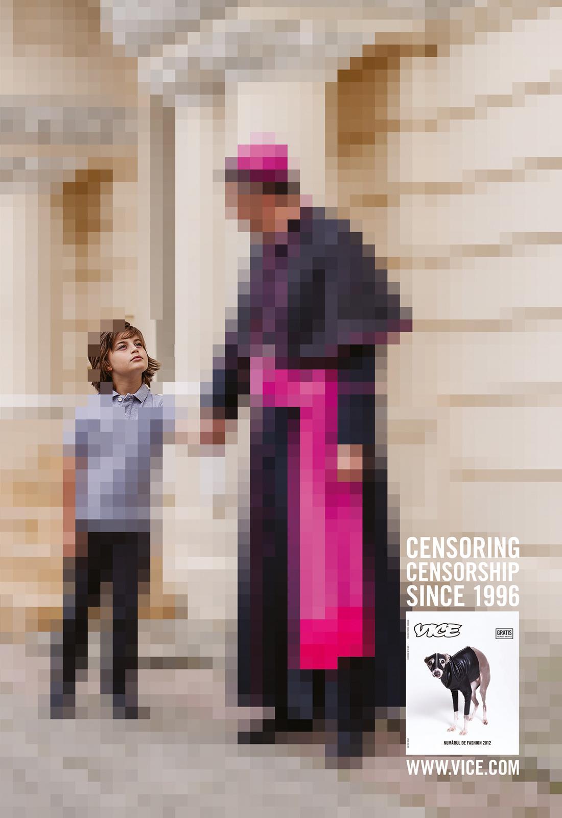 Vice Magazine Print Ad -  Bishop