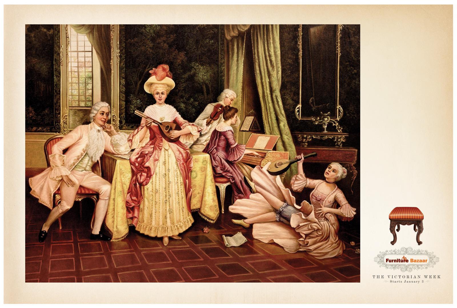 Furniture Bazaar Print Ad -  Victorian week, 3