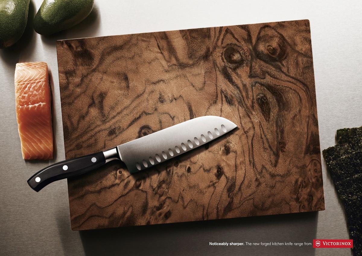 Victorinox Print Ad -  Oak