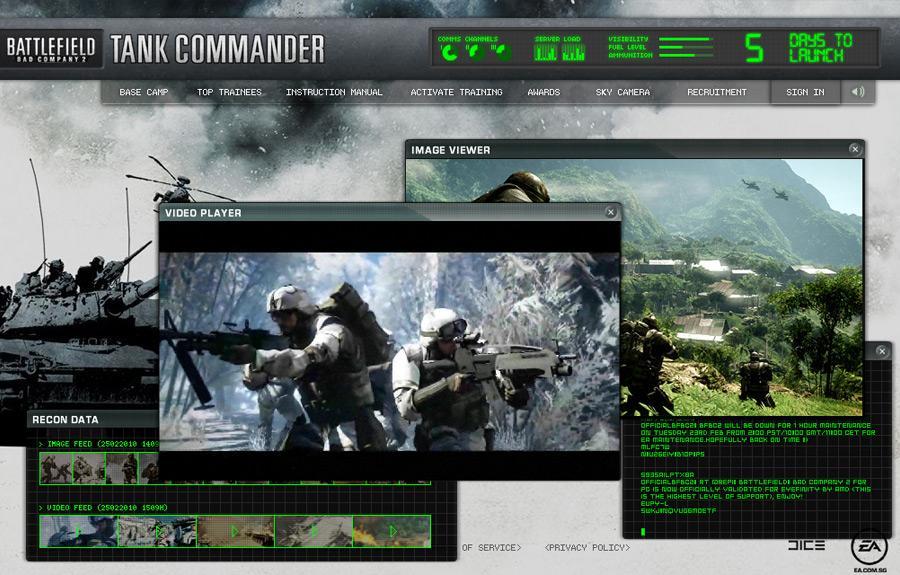 Battlefield Digital Ad -  Tank Commander