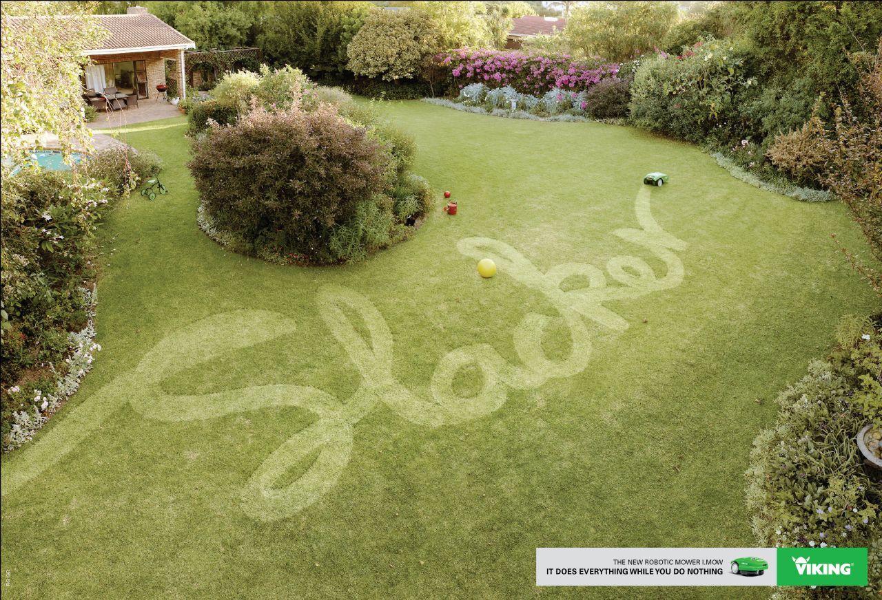 Viking Print Ad -  Slacker