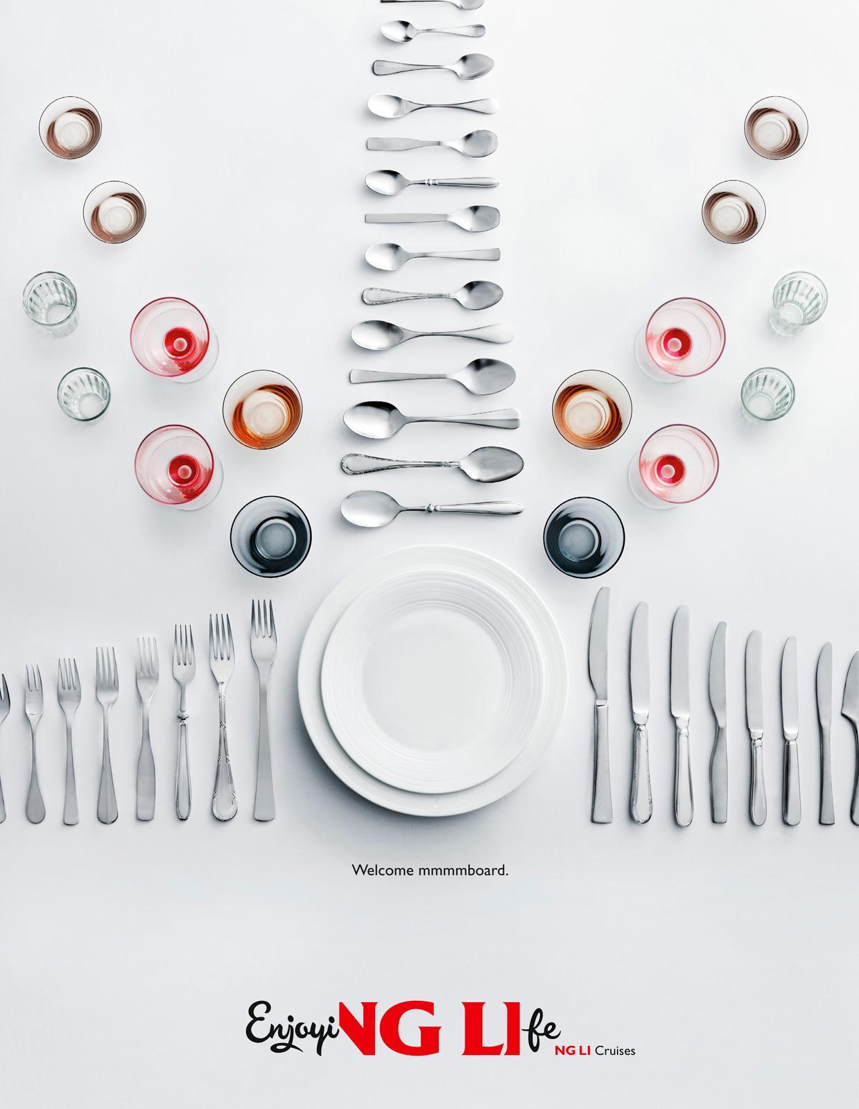 Vikign Line Print Ad -  Welcome mmmmboard