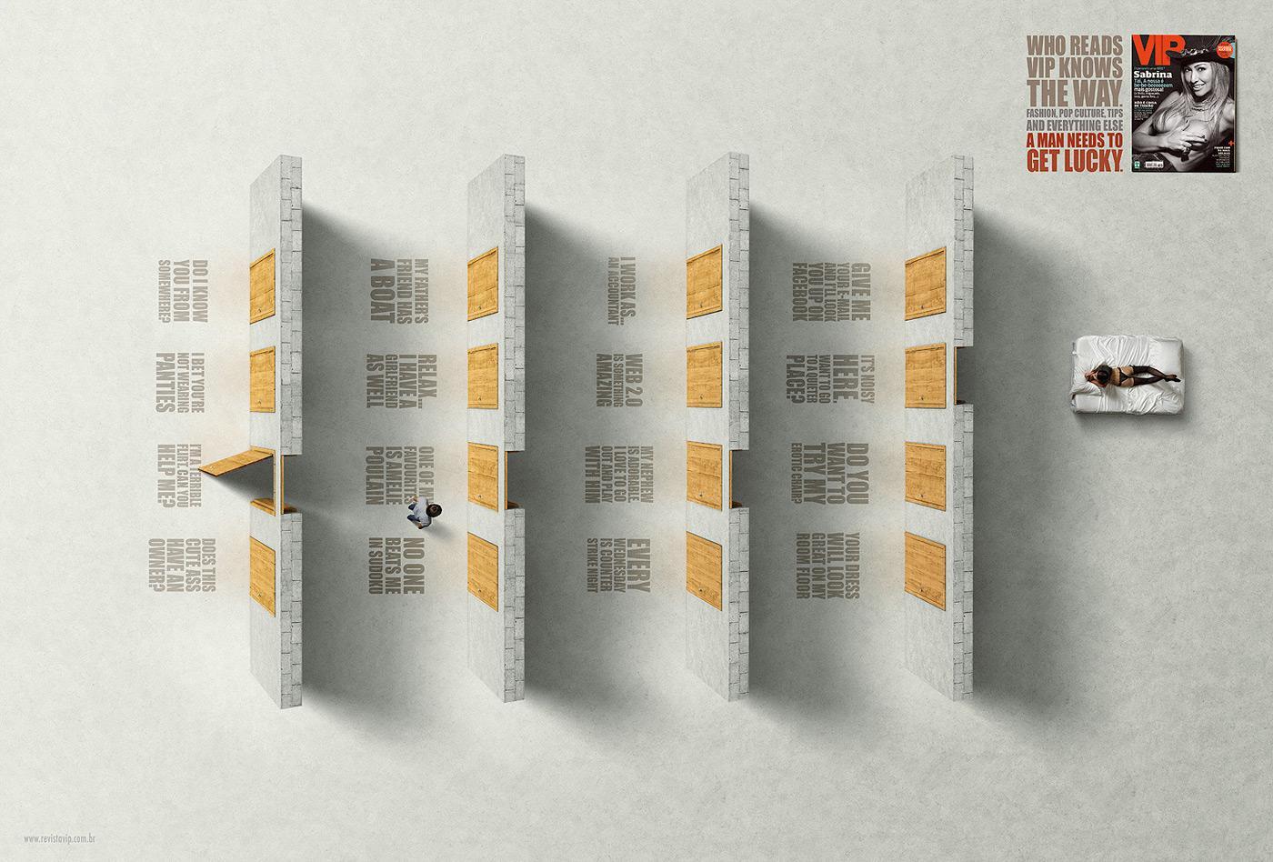 VIP Magazine Print Ad -  Doors, 3