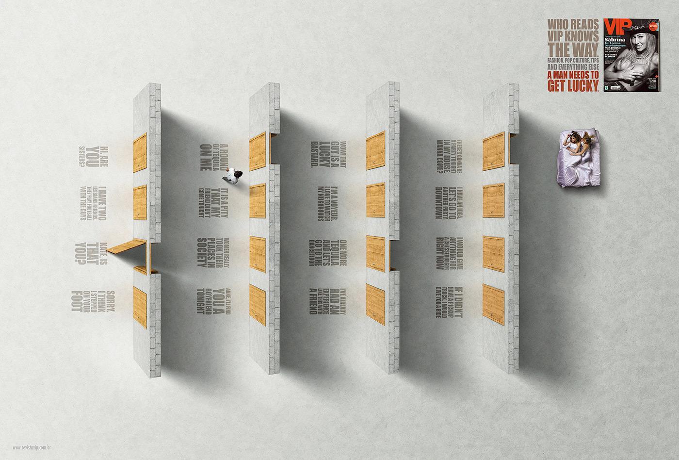 VIP Magazine Print Ad -  Doors, 1