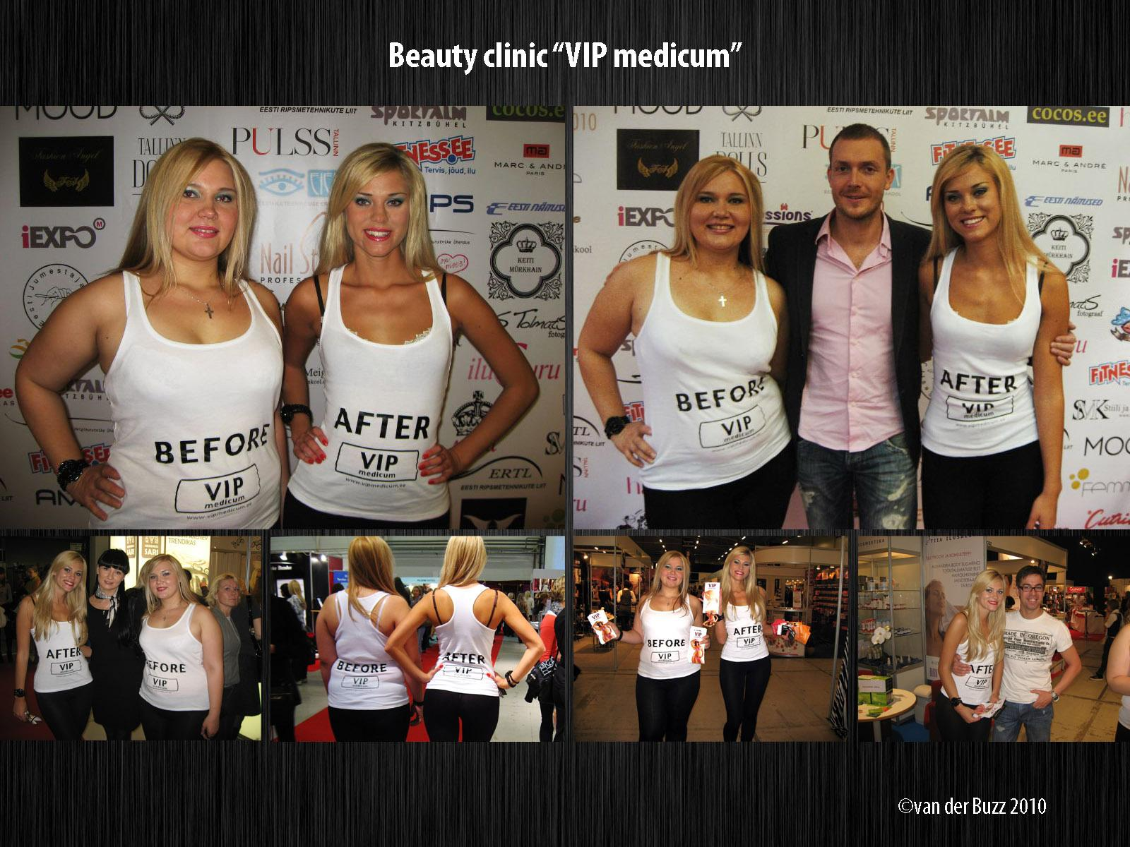 VIP Medicum Ambient Ad -  Before and After Hostesses