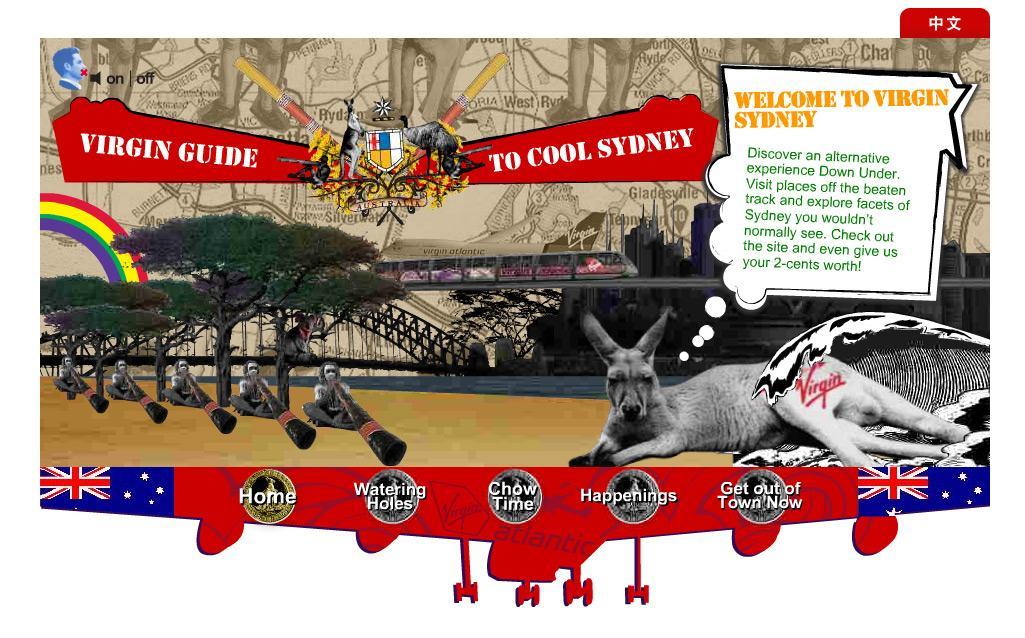 Virgin Guide Sydney
