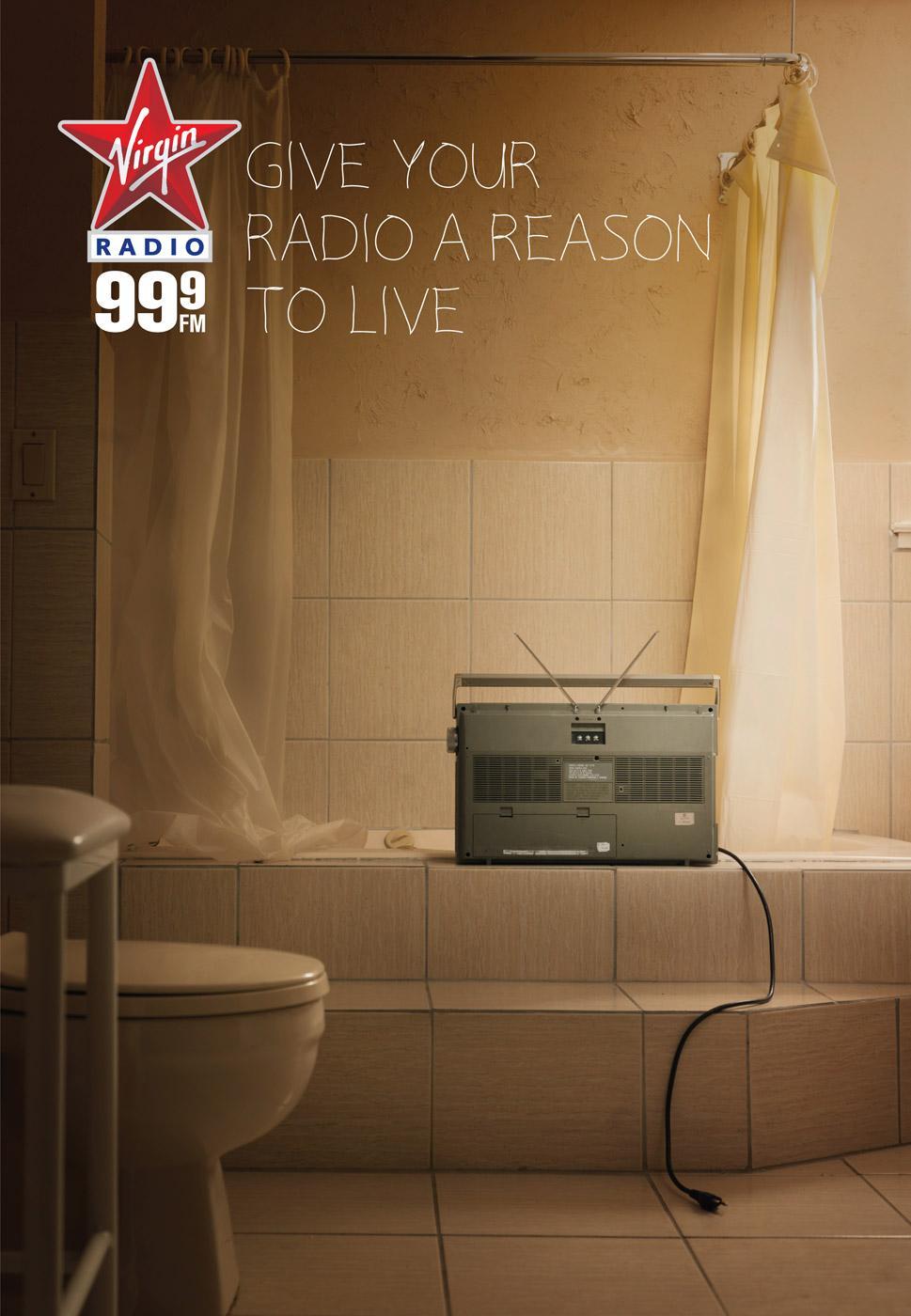 Virgin Print Ad -  Bath