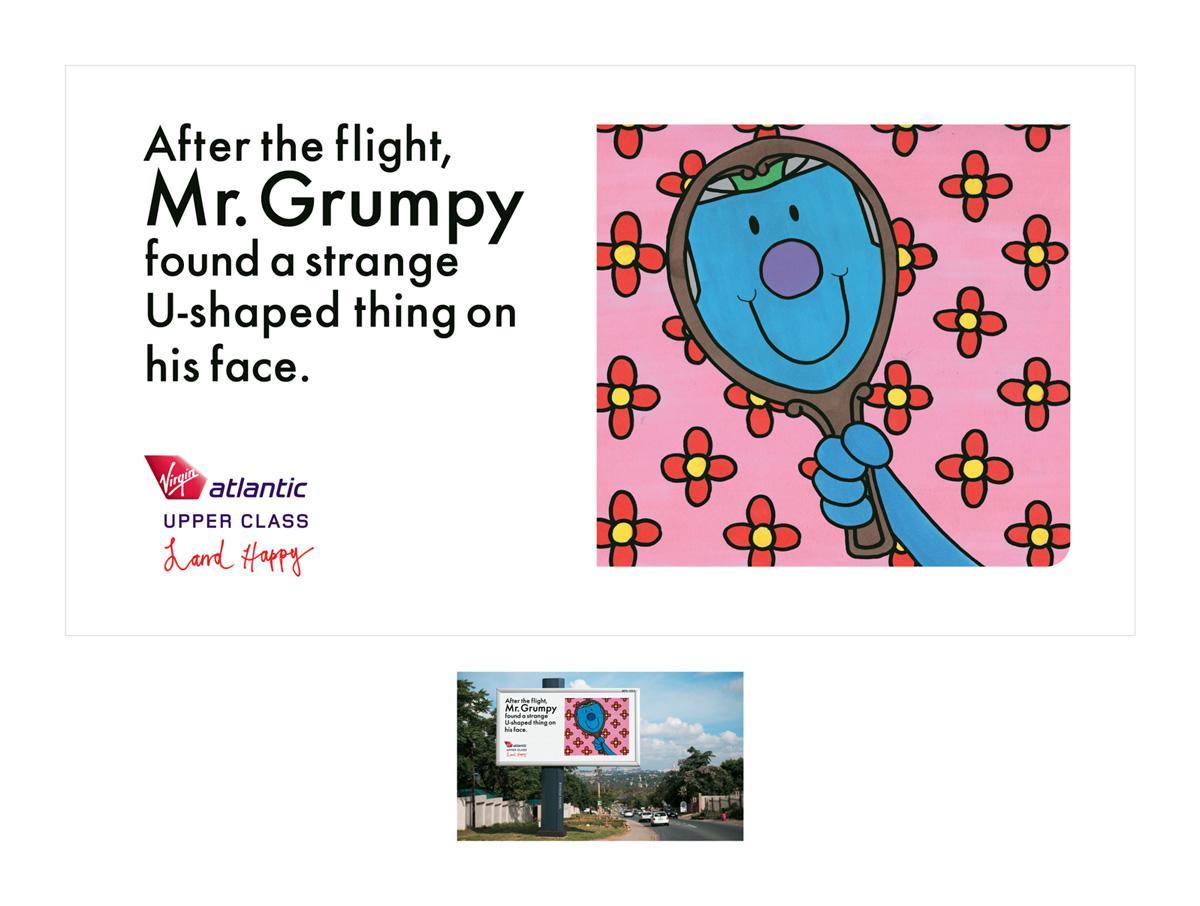 Virgin Print Ad -  Mr Grumpy
