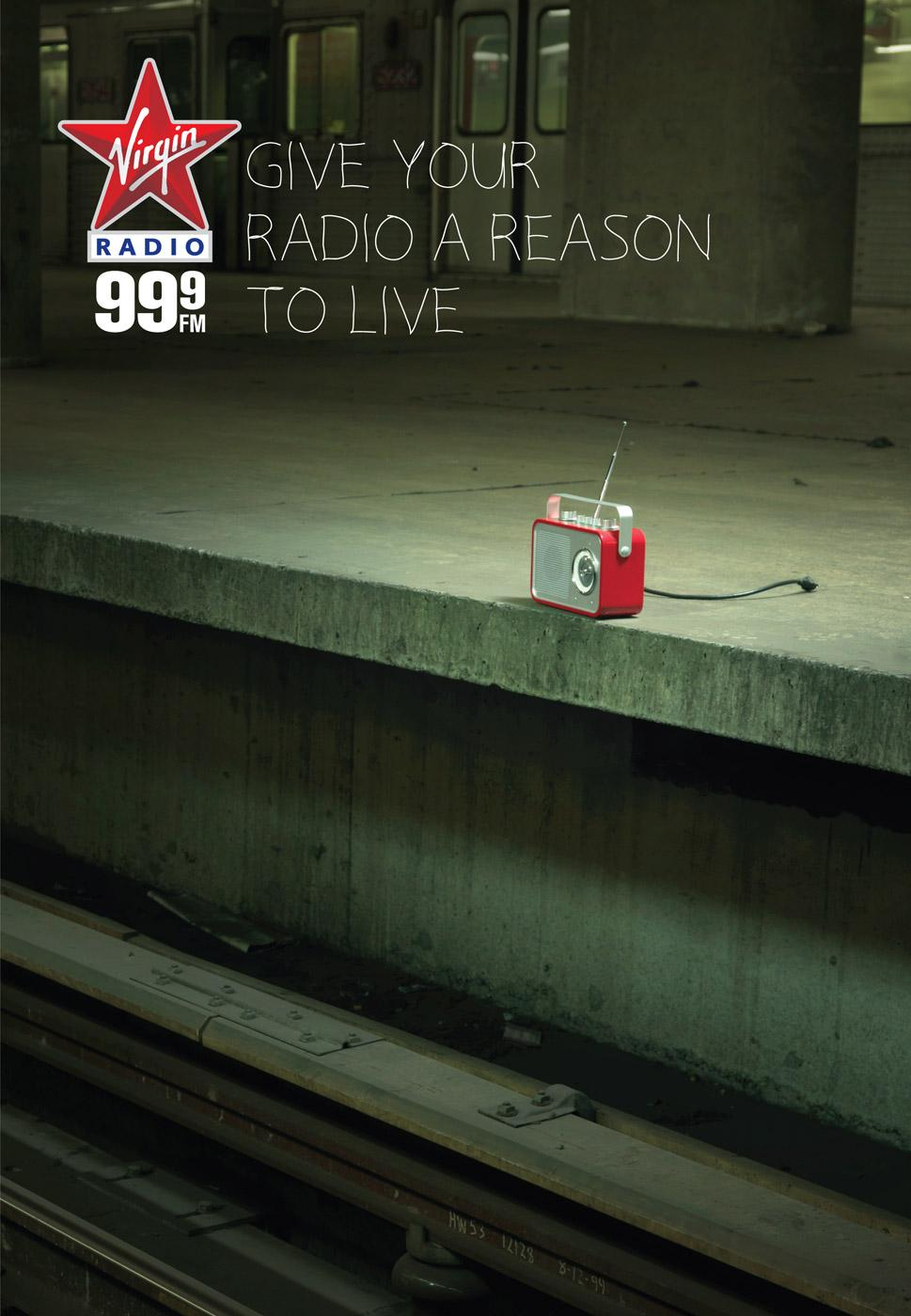 Virgin Print Ad -  Subway