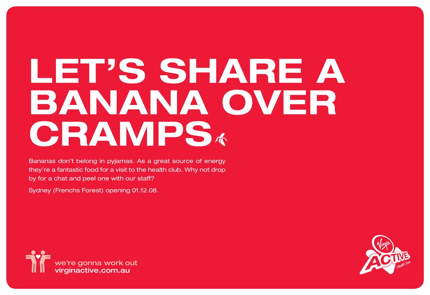 Virgin Print Ad -  Bananas