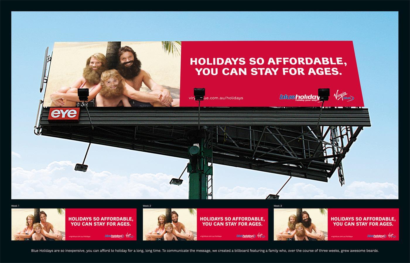 Virgin Outdoor Ad -  Castaways